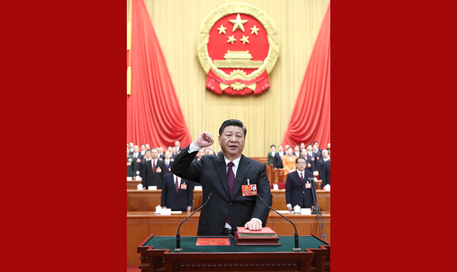 Chinese president takes oath of allegiance to Constitution for first time