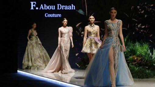 """Models present creations during """"Designers & Brands Event"""" show in Lebanon"""