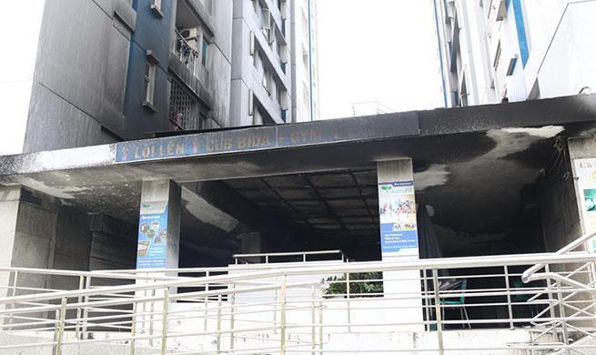 Luxury tenement fire in Vietnam' HCM City kills 13, injures 14