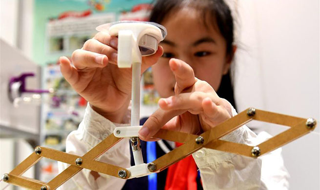 Youth science and technology innovation competition held in China's Guangxi