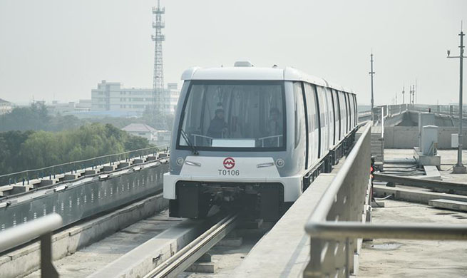 Driverless subway trains to begin trial run in Shanghai