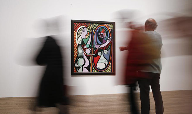 """The EY Exhibition Picasso 1932 - Love, Fame, Tragedy"" held in London"