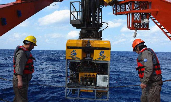 "Unmanned submersible ""Hailong III"" completes 400-meter-deep sea test"
