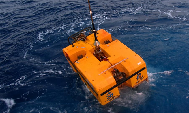 """China's unmanned submersible """"Hailong III"""" completes deep sea test"""