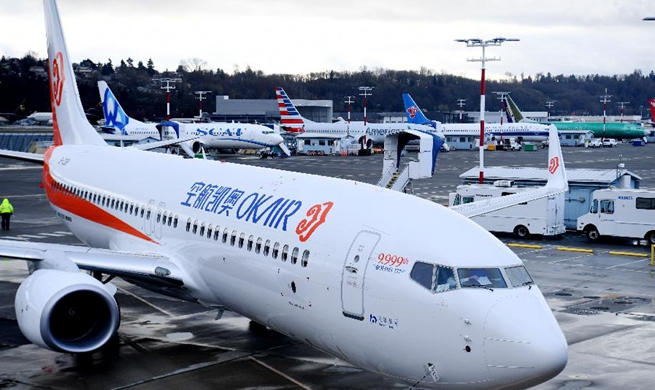 China's Okay Airways takes delivery of 9999th Boeing 737-800 aircraft