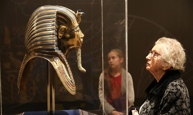 """Treasures of Ancient Egypt"" exhibition held at Romanian National Library in Bucharest"