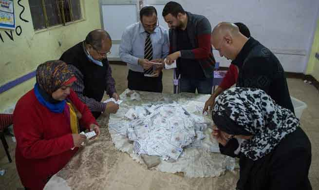 Polls wrap up in Egypt