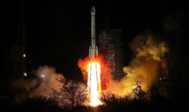 China sends twin BeiDou-3 navigation satellites into space