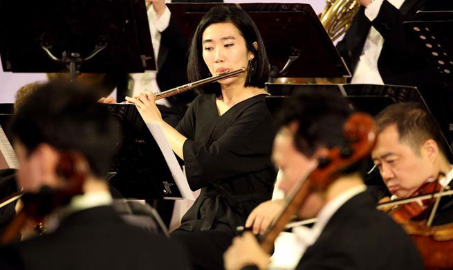 "Concert of ""Macao Orchestra in Myanmar"" held in Yangon"