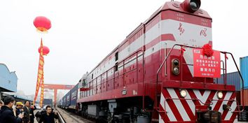 China-Europe freight train trips grow fast in Q1