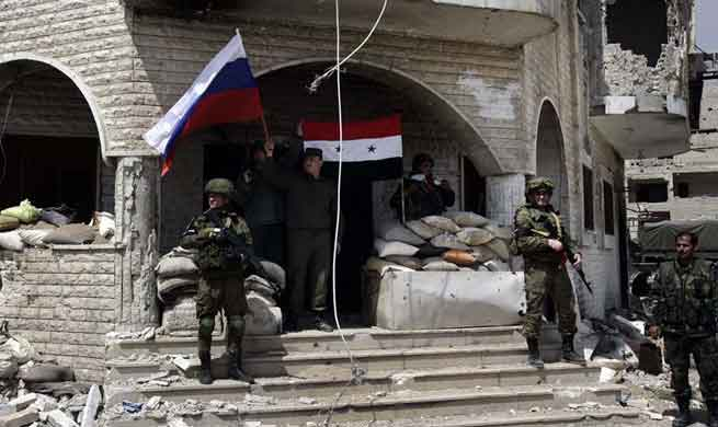 Last piece of rebels' domino in Syria's Eastern Ghouta about to fall