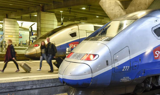 Three-month railway strike in France starts on Monday