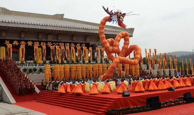 People pay tribute to legendary emperor Huangdi
