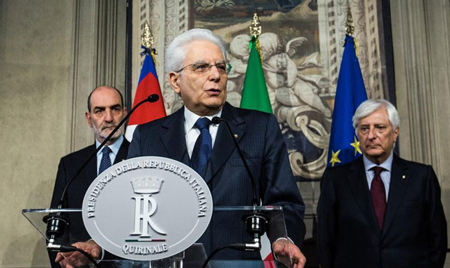 First round of Italy gov't formation talks fails