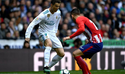Real Madrid ties with Atletico Madrid in Spanish league match