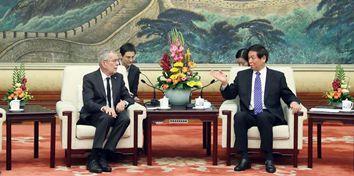 China's top legislator meets Austrian President