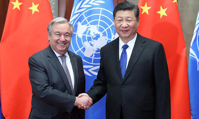 Xi reiterates commitment to safeguarding authority of UN