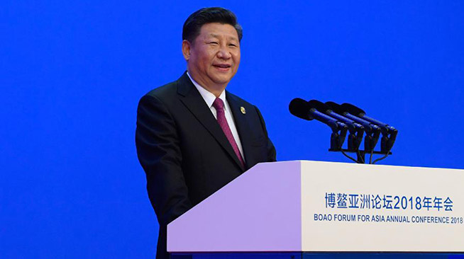 President Xi Jinping addresses opening ceremony of 2018 Boao Forum