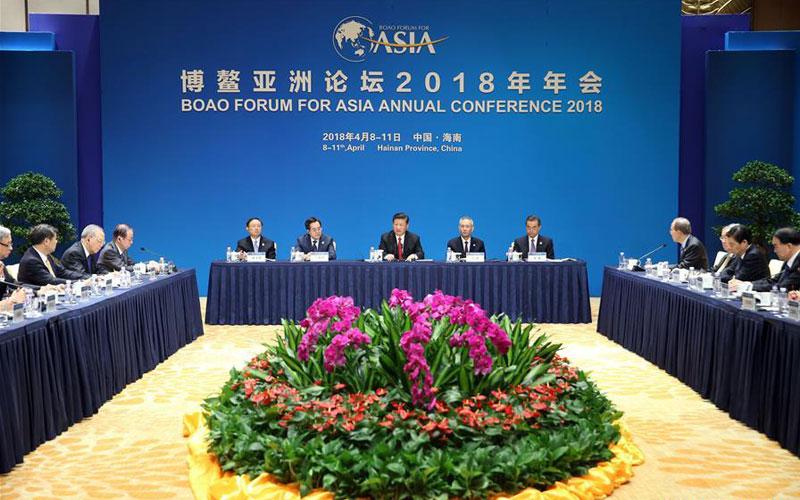Boao Forum for Asia (BFA) annual conference 2018