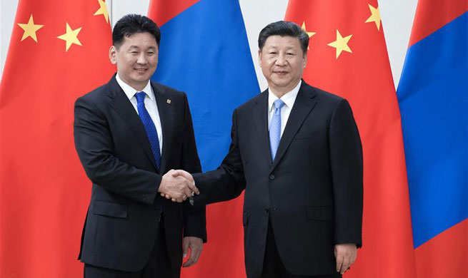 China, Mongolia pledge to deepen comprehensive strategic partnership