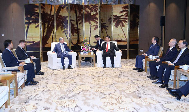 Xi meets former Kyrgyz president on bilateral cooperation