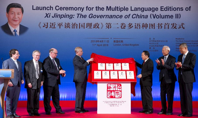 Multilingual version of 2nd volume of Xi's book on governance launched in London