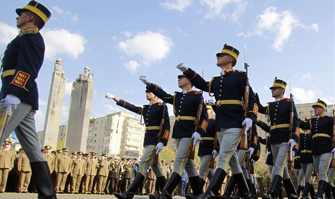 Ceremony marking Romanian Land Forces Day held in Bucharest