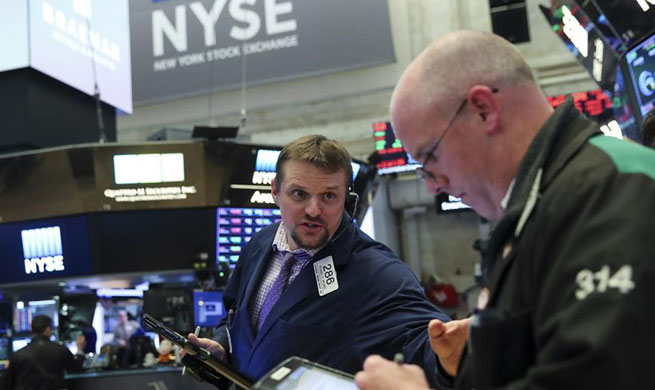U.S. stocks close lower amid earnings reports, rising Treasury yield