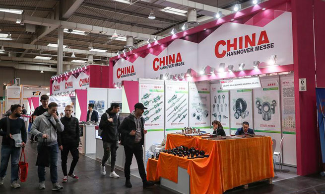 Around 1,300 Chinese exhibitors participate in Hanover Fair 2018