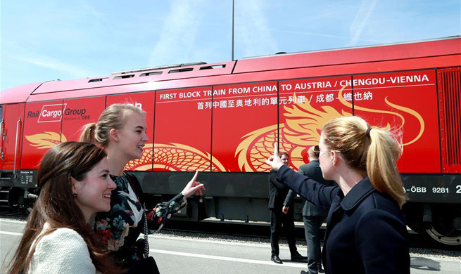 New freight train symbol of cooperation with China: Austrian president