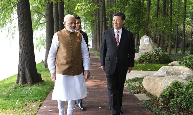 Xi underscores enhancing mutual trust between China, India