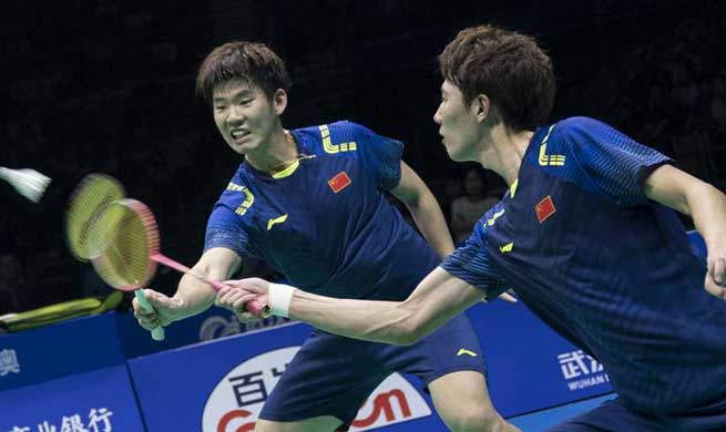 China claims title of Badminton Asia Championships men's doubles