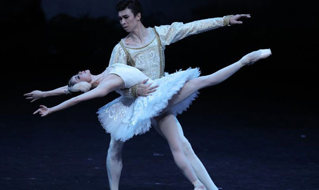 """""""Swan Lake"""" performed in Beijing to commemorate 60th anniversary of debut in China"""