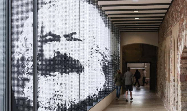 Spotlight: Karl Marx pride of the city: mayor of thinker's hometown Trier