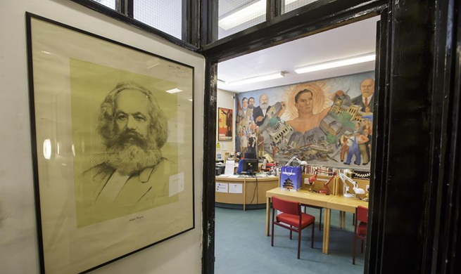 In pics: Marx Memorial Library and Workers' School in London, Britain