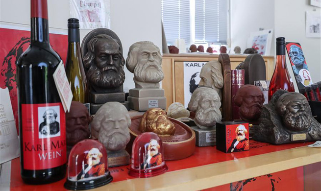 200th anniversary of Karl Marx's birth marked in Trier, Germany