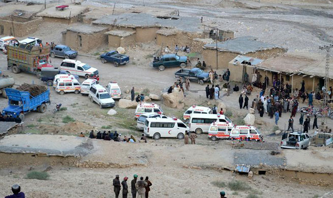 18 killed, 13 injured in colliery collapses in Pakistan