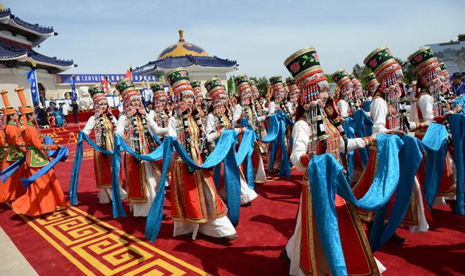 Memorial ritual for Genghis Khan held in China's Inner Mongolia