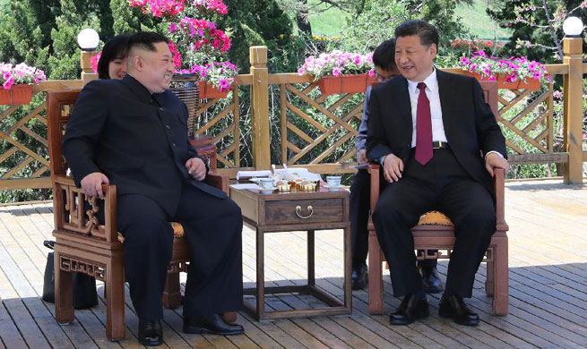 Xi Jinping, Kim Jong Un hold talks in Dalian