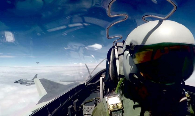 China's J-20 stealth jets conduct first over-the-sea combat training