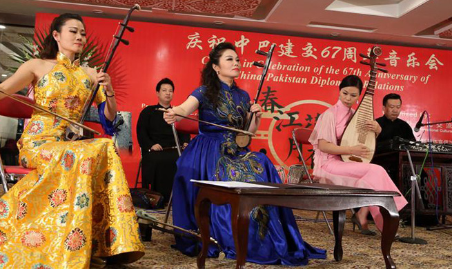 Concert held to celebrate 67th anniv. of establishment of China-Pakistan Diplomatic Relations
