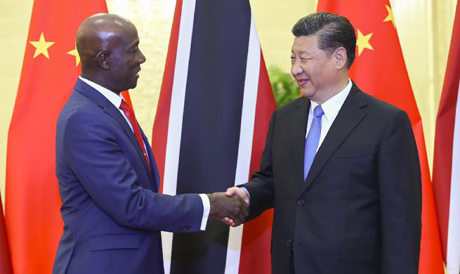 Xi calls for integration of development strategies between China, Trinidad and Tobago
