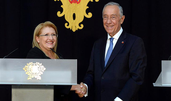 Presidents of Malta, Portugal discuss refugee crisis in Lisbon