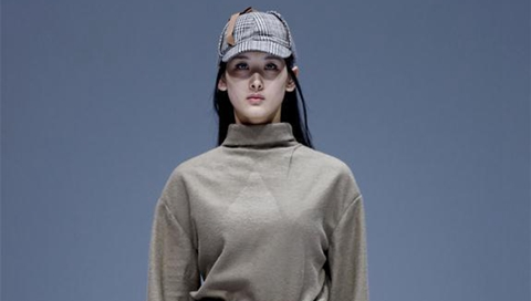 Models present creations at China Graduate Fashion Week