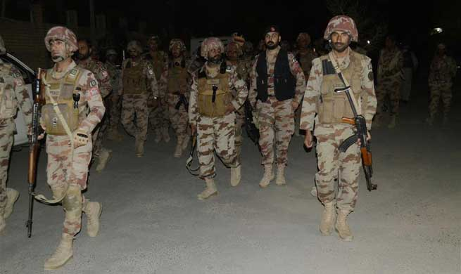 5 militants killed as security forces foil terrorist attack in Pakistan's Quetta