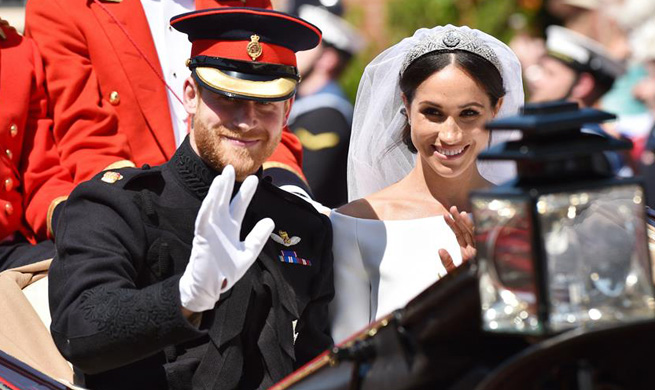 Prince Harry's royal wedding held in Britain's Windsor