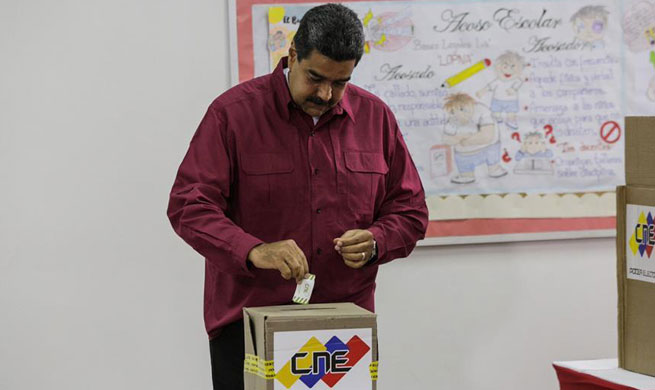 Voting underway in Venezuela presidential elections