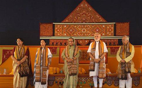Indian PM, his Bangladeshi counterpart attend Visva Bharati University's ceremony
