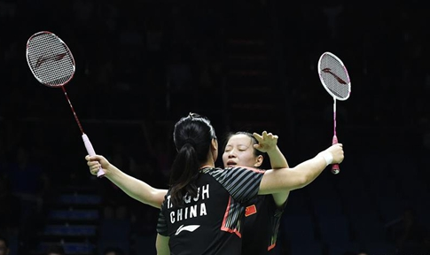 In pics: team China competes with Team Thailand during BWF Uber Cup 2018 semifinal