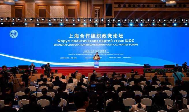 1st SCO political parties forum held in Shenzhen